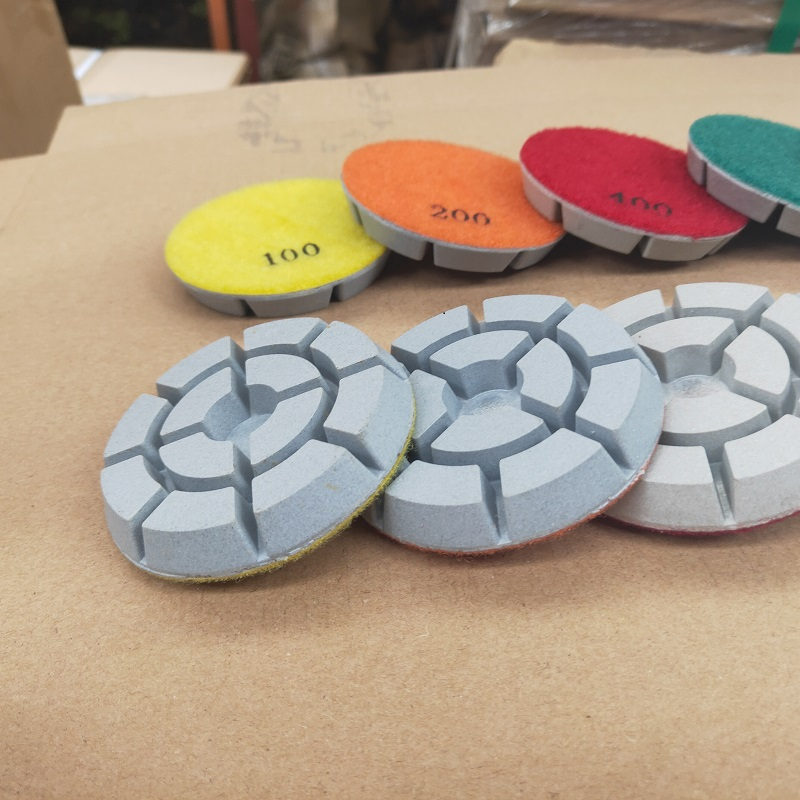 16 concrete polishing pads